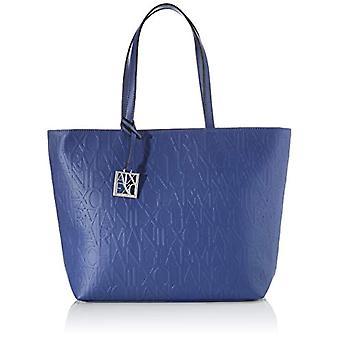ARMANI EXCHANGE 942650CC793 Blue Women's Bag (Blue (DENIM - DENIM 01831)) 28x11x40 cm (B x H x T)