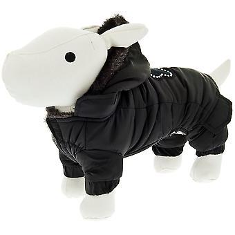 Ferribiella Super Cold Coat Black (Dogs , Dog Clothes , Coats and capes)