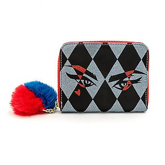 Birds of Prey Harley Quinn Eyes Portefeuille