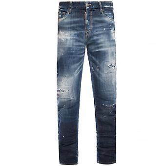 Dsquared2 DSquared2 Jeans Stonewash en détresse