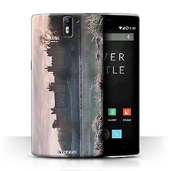 STUFF4 Case/Cover for OnePlus One/Frozen/Castle Fort
