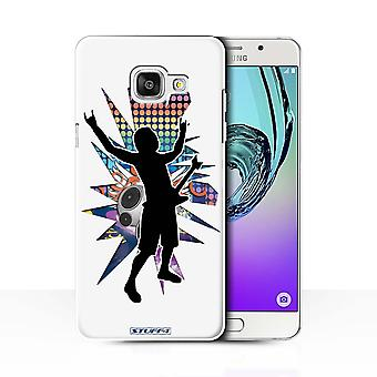 STUFF4 Case/Cover for Samsung Galaxy A7 (2016)/Rock n Roll White/Rock Star Pose