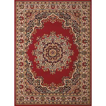 """33"""" x 39"""" Red Polypropyelene Accent Rug"""