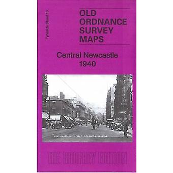 Central Newcastle 1940 Tyneside Sheet 11.3 door Anthea Lang