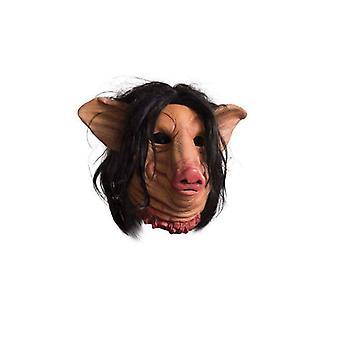 Rubie ' s puku Co näki sika kasvot yläpuolella lateksi naamio