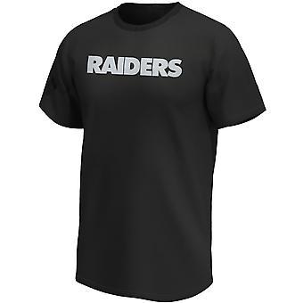Las Vegas Raiders NFL T-Shirt Iconic Wordmark black