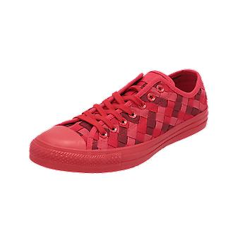 Converse CTAS OX CASINO/BACK ALLEY BRICK/BRK LGHT Men's Sneakers Red Gym Shoes