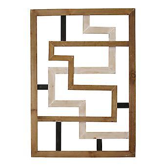 Modern Gallery Look Wood Wall Panel
