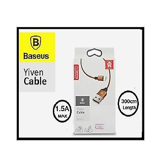 Original Baseus Lynkabel for iPhone iPad iPod - 300cm