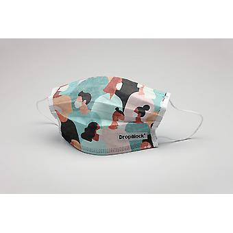 Szájmaszk Emberek Crowd mosható maszk védőmaszk ökotex