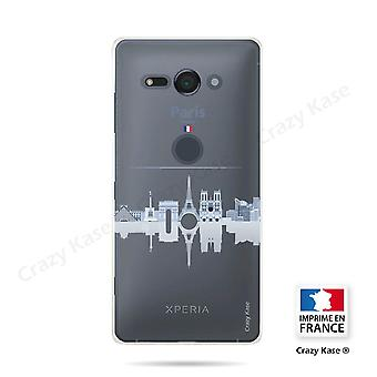 Hull For Sony Xperia Xz2 Compact Flexible Monuments From Paris