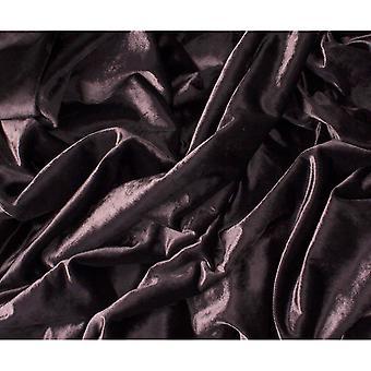 McAlister têxteis brilhantes Beringela roxo esmagado cortinas de veludo