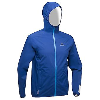 Raidlight Activ Mp+ 19 Mens Waterproof & Breathable Running Jacket Blue