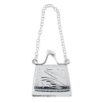 Orton West Handbag Pill Box - Silver
