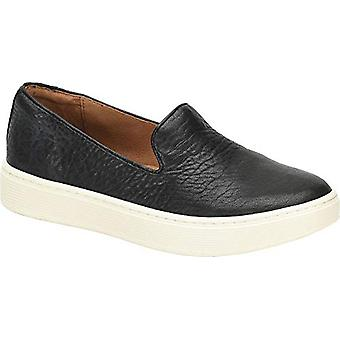 Sofft Womens Somers Slip on Leather Low Top Slip On Fashion Sneakers