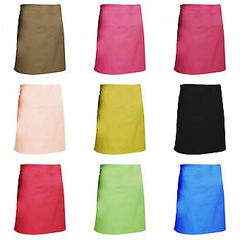 Dennys Multicoloured Catering Waist Apron 28x36ins