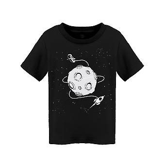 Flying Around The Moon Tee Toddler's -Image by Shutterstock