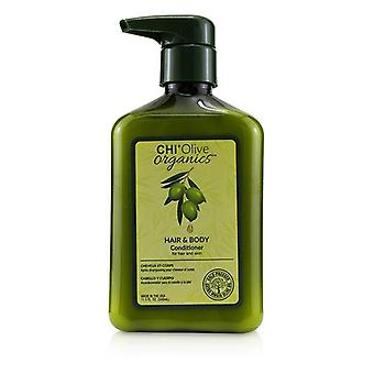 Olive organics hair & body conditioner (for hair and skin) 238575 340ml/11.5oz