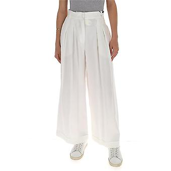 -apos;S Max Mara 91310302600353001 Pantalons en coton blanc