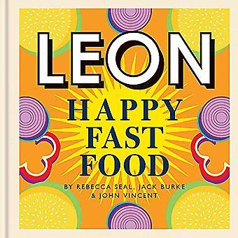 Happy Leons - Leon Happy Fast Food di Rebecca Seal - 9781840918014 Bo