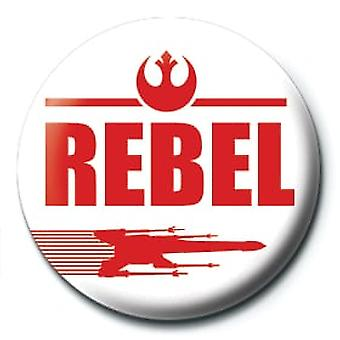 Star Wars Rebel 25mm Pin Button Badge