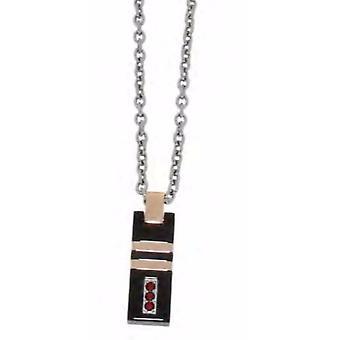 ZOPPINI Black Rose Necklace