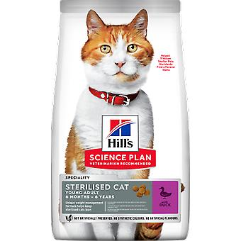Hill's Science Plan Sterilised Cat Young Adult Pato (Cats , Cat Food , Dry Food)