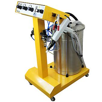 Electrostatic Powder Coating Machine Industrial Duster Paint System SprayGun 45L