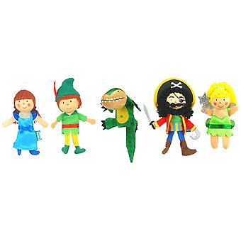 Fiesta Crafts Peter Pan Finger Puppet Set (5)