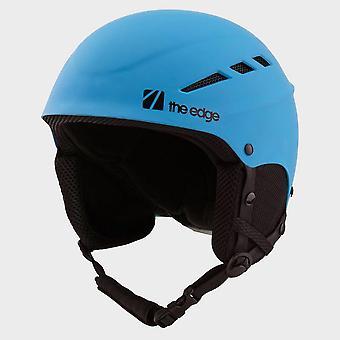 New The Edge Yukio Kids' Snow Helmet Blue