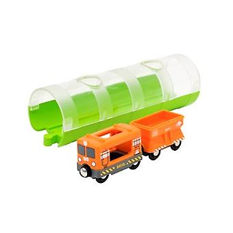 BRIO Cargo Train & Tunnel 33891 for Wooden Railway Set
