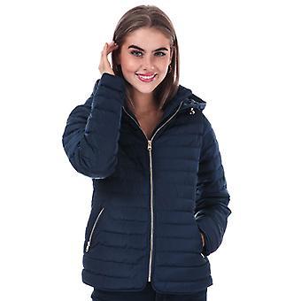 Women's Tokyo Laundry Ginger Hooded Jacket in Blue
