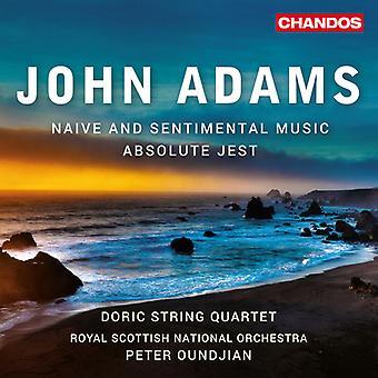 Adams / Doric String Quartet - Naive & Sentimental Music [SACD] USA import