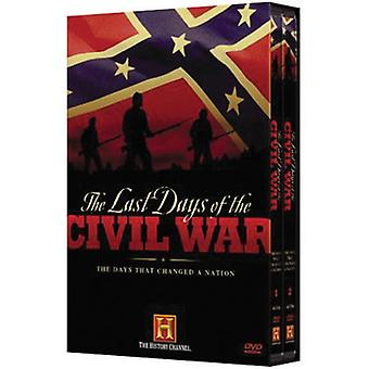 Last Days of the Civil War [DVD] USA import