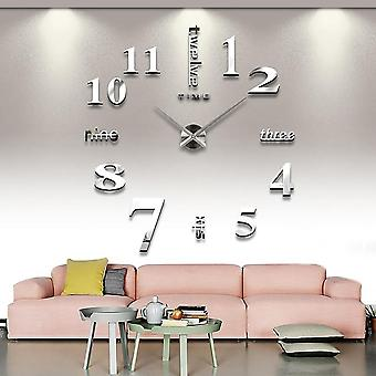 3d Diy Luminous Wall Clock-home Decoration