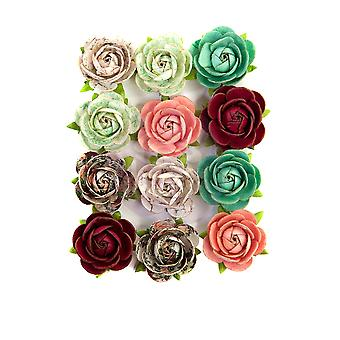 Prima Marketing Pretty Mosaic Flowers Peridot
