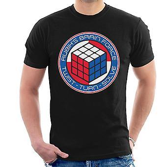 Rubik's Brain Force mannen T-shirt