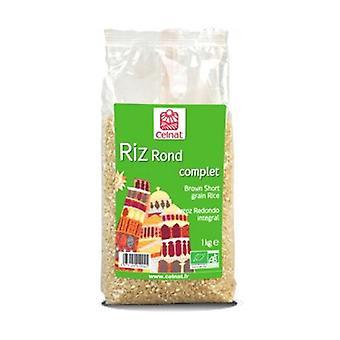 Runder brauner Reis None