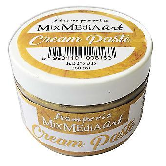 Stamperia Cream Tahna Metallinen Kulta (150ml) (K3P53B)