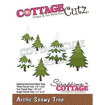 Romutusmökki Arktinen luminen puu