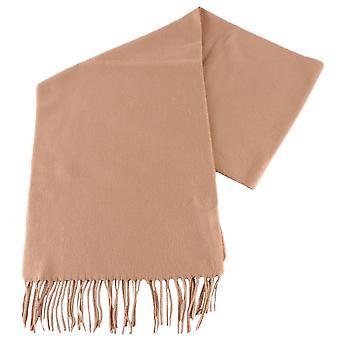 Fraas Plain Scarf - Camel Beige