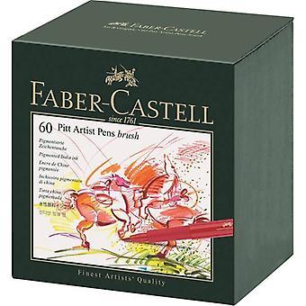Faber Castell piirustus kynä pitt taiteilija kynä harja 60 kpl studiobox