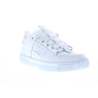 DC Lynx OG Mens Witte Leren Skate Sneakers Schoenen