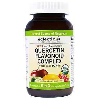 Eclectic Institute, Quercetin Flavonoid Complex, Whole Food POWder, 3.2 oz (90 g
