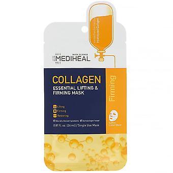 Mediheal, Collagen, Essential Lifting & Firming Mask, 5 Sheets, 0.81 fl oz (24 m