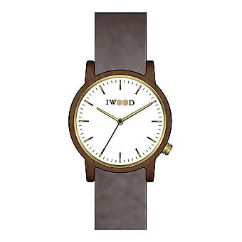 Iwood Real Wood Homme's Watch IW18444003