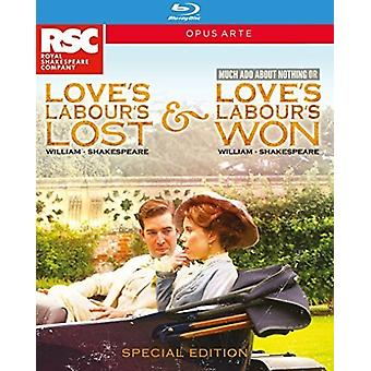 William Shakespeare - Love's Labour's Lost & Won [Blu-ray] USA import