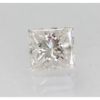 معتمدة 0.63 قيراط D VS1 الأميرة المحسن الطبيعية فضفاضة الماس 4.77x4.44mm