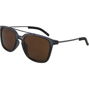 Sunglasses Unisex Wayfarer Kat. 3 blue/brown (8350-C)