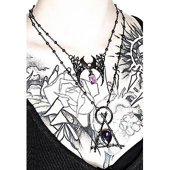Restyle - branch delta - black necklace with pendant